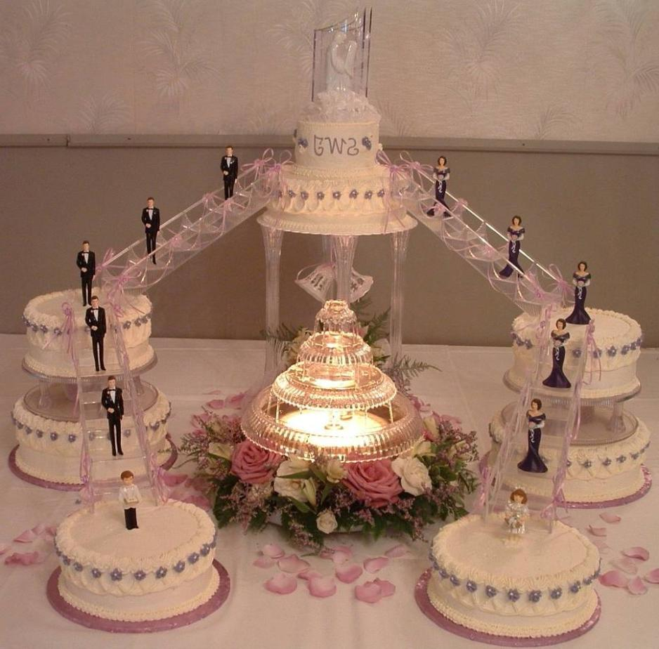 Pictures of Wedding Cakes With