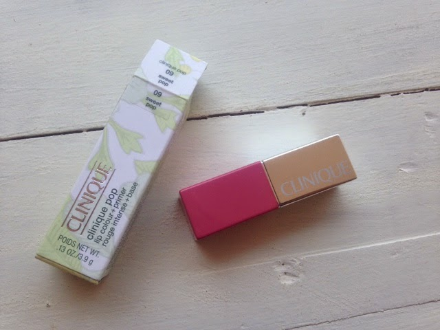Clinique Pop Lip Colour + Primer in Sweet Pop