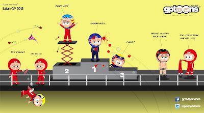 Любовь и ненависть - комикс Grand Prix Toons по Гран-при Италии 2013