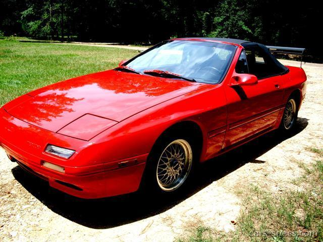 1991 Mazda Rx 7 Convertible Specifications Pictures Prices