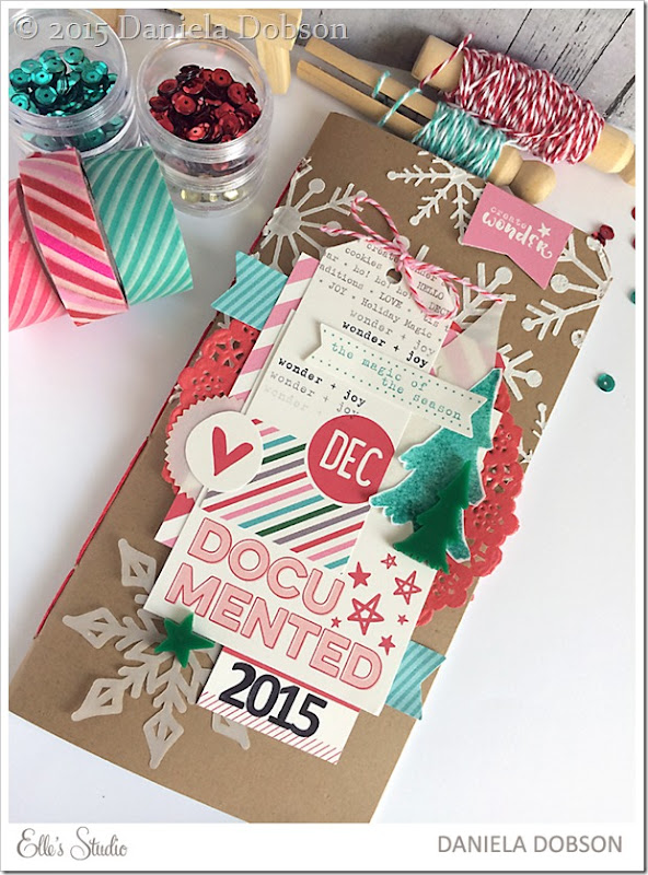 December Documented 2015 front cover by Daniela Dobson