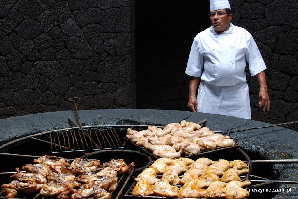 W Parku można zjeść kurczaka z grila 'wulkanicznnego'