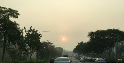 Photo taken at 7.15am in Singapore