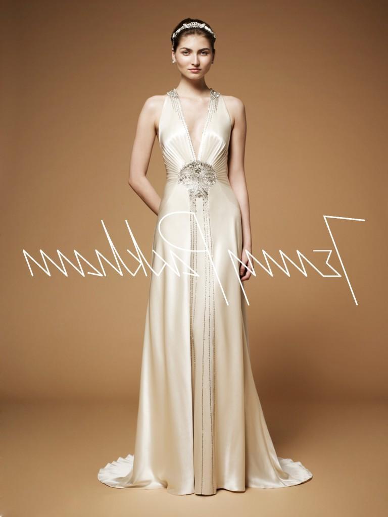 Art Deco Gown. Vintage Style