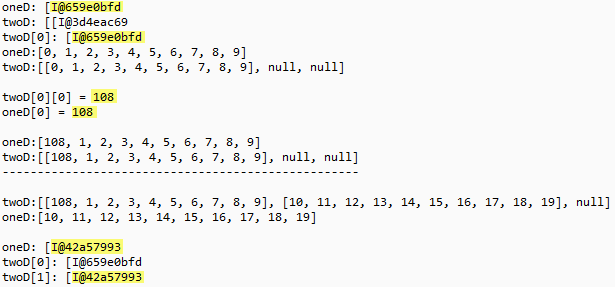 Двумерный Массив Javascript