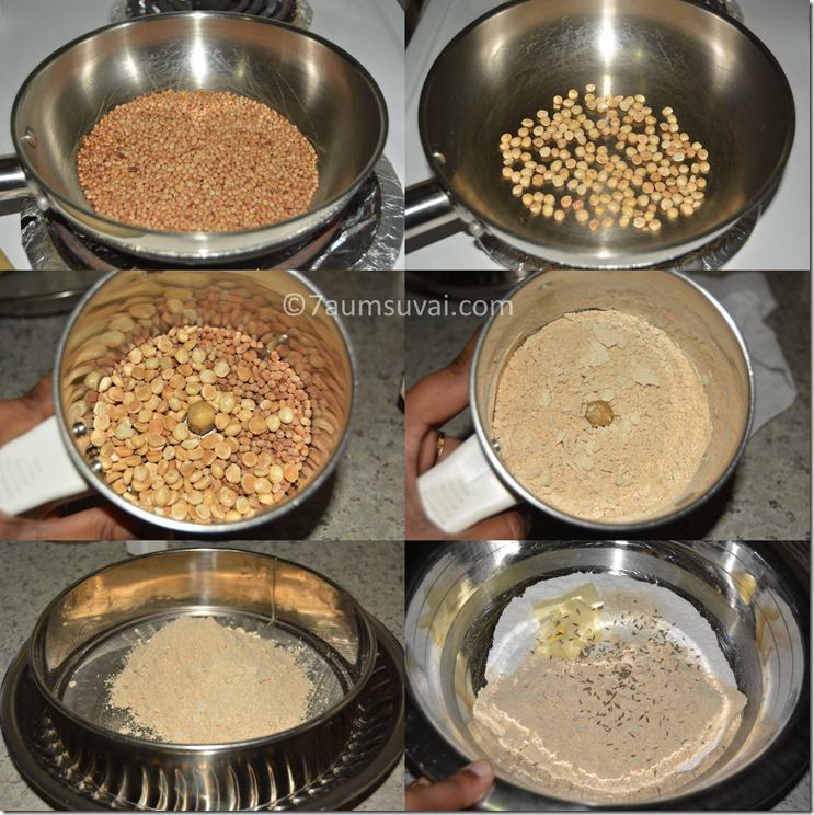 coconut milk murukku process