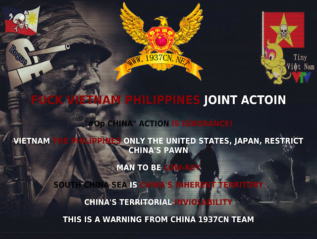 UST Museum Site Hacked By China 1937CN tEam