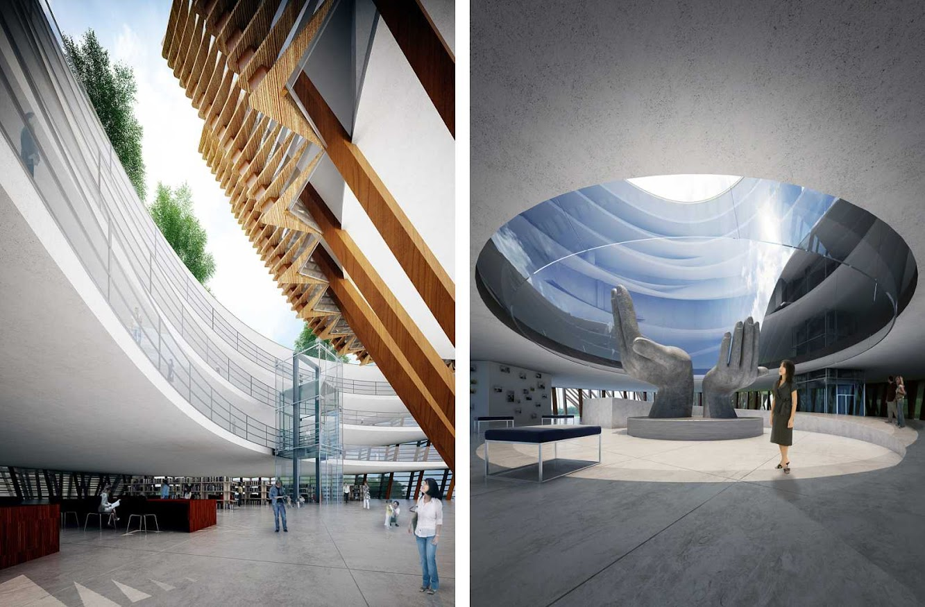 Taichung City Cultural Center competition by Maxthreads