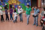 El Grupo a la llegada al colegio