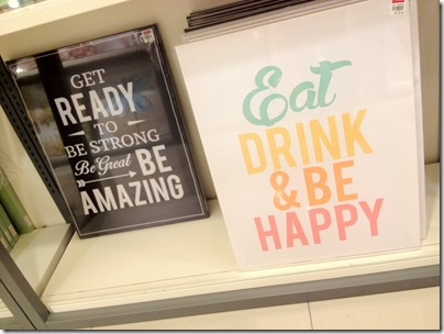 Slogan posters