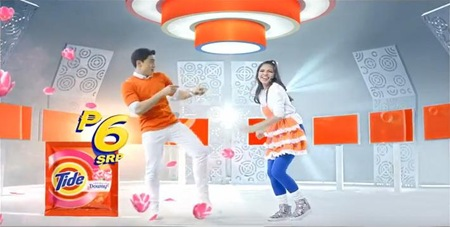 AlDub in Tide TVC