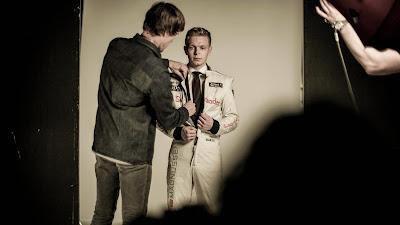фотосессия Кевина Магнуссена для Hugo Boss 2014