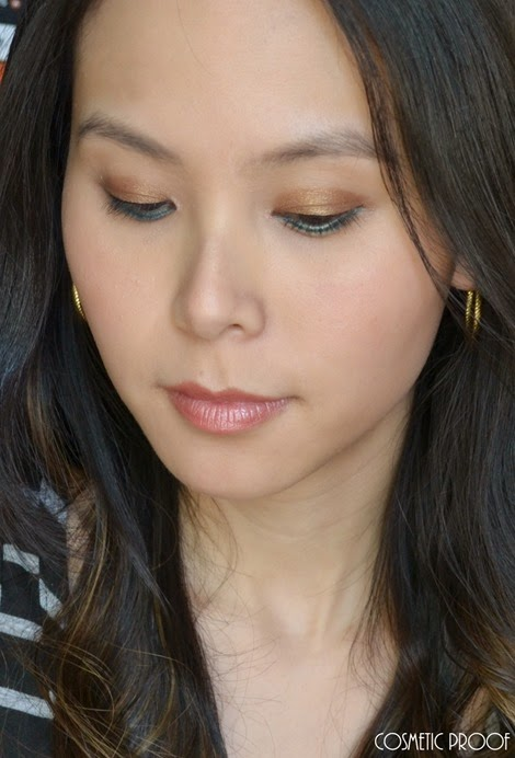 Elizabeth Arden Sunkissed Pearls Cream Eye Shadow Stylo Review Makeup Look (2)