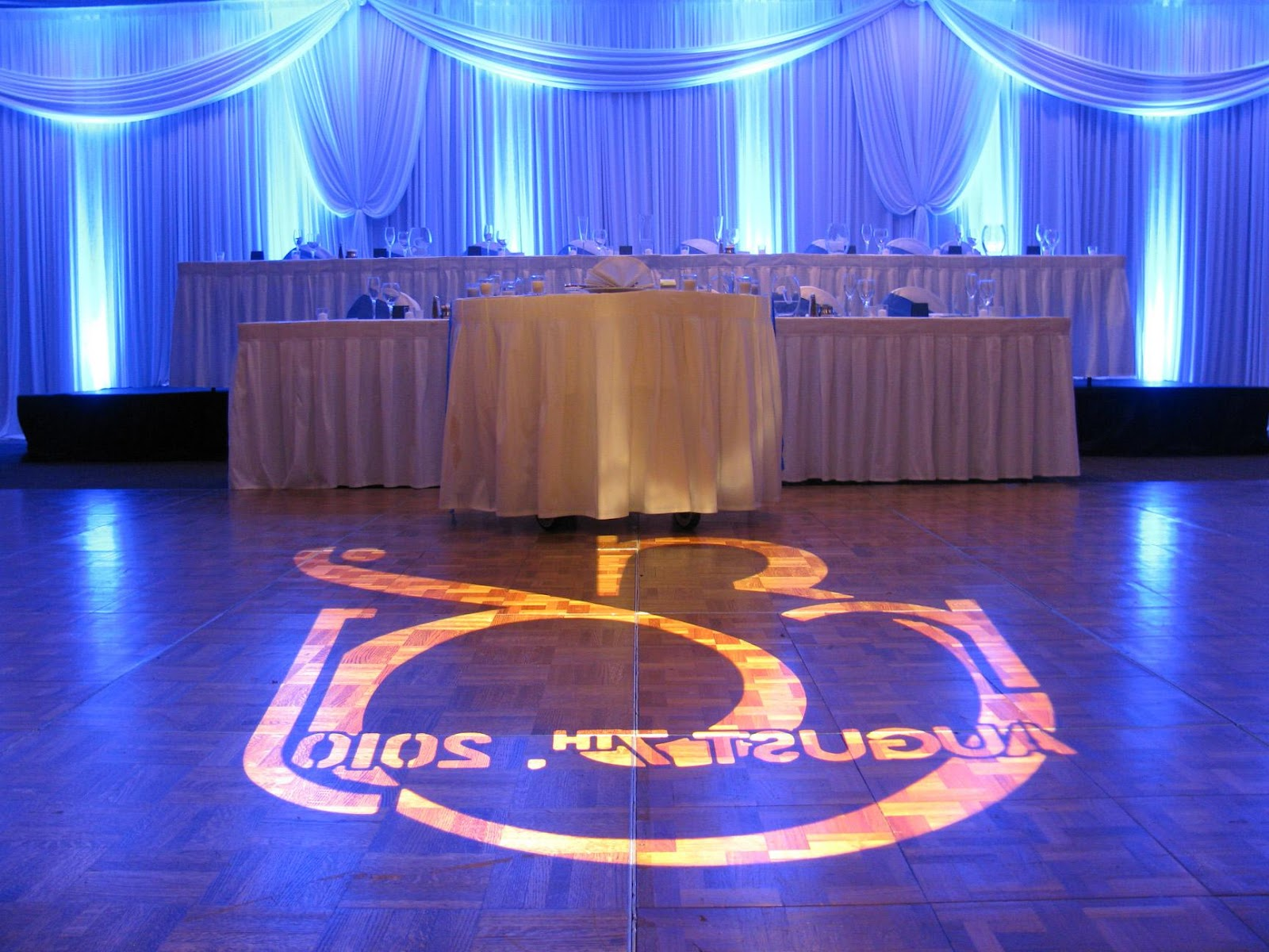 Chicago wedding head table