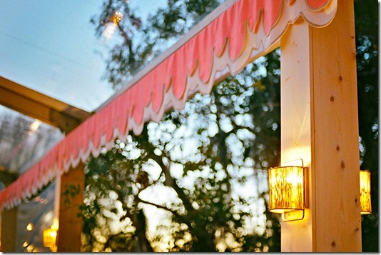 Bespoke Valance by Boutique Tents | Design for Tara Guerard | Photo by Liz Banfield