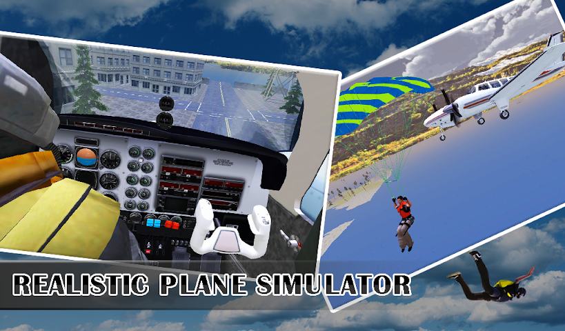 android Air Stunts : Flying Sim Screenshot 4