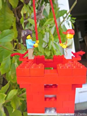 Valentine Lego Lantern