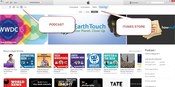 podcast-itunes-store