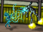 <strong>Secret Ninja vs. Cyber-Bully</strong> <em>Digital Media, 2011. Illustration for Secret ID School.</em>