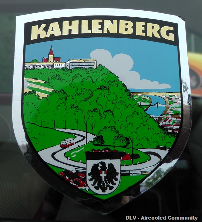 Kahlenberg Aufkleber