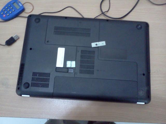 posisi laptop