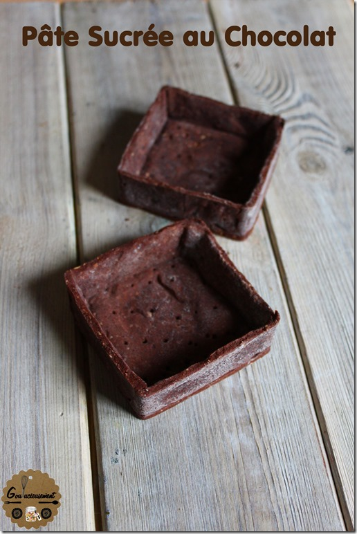 Pâte Sucrée Chocolat 1