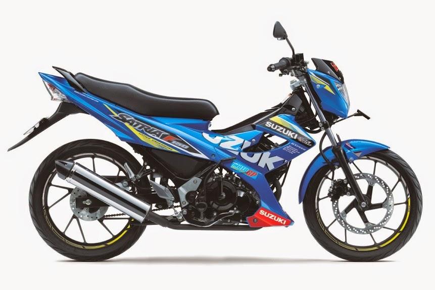 Suzuki Satria F150 MotoGP Edition - Spesifikasi Lengkap dan Harga