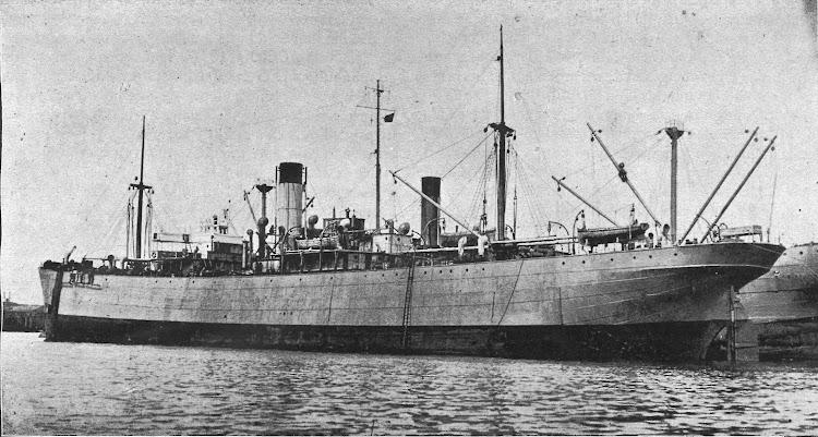 Vapor RAMON MUMBRU en Barcelona. Fecha indeterminada. De la revista Navegación. Año 1919.jpg
