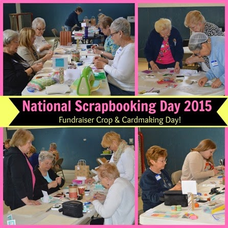 2015-5 NSD_Spring Fundrasier_working away_cardmaking_PicMonkey Collage