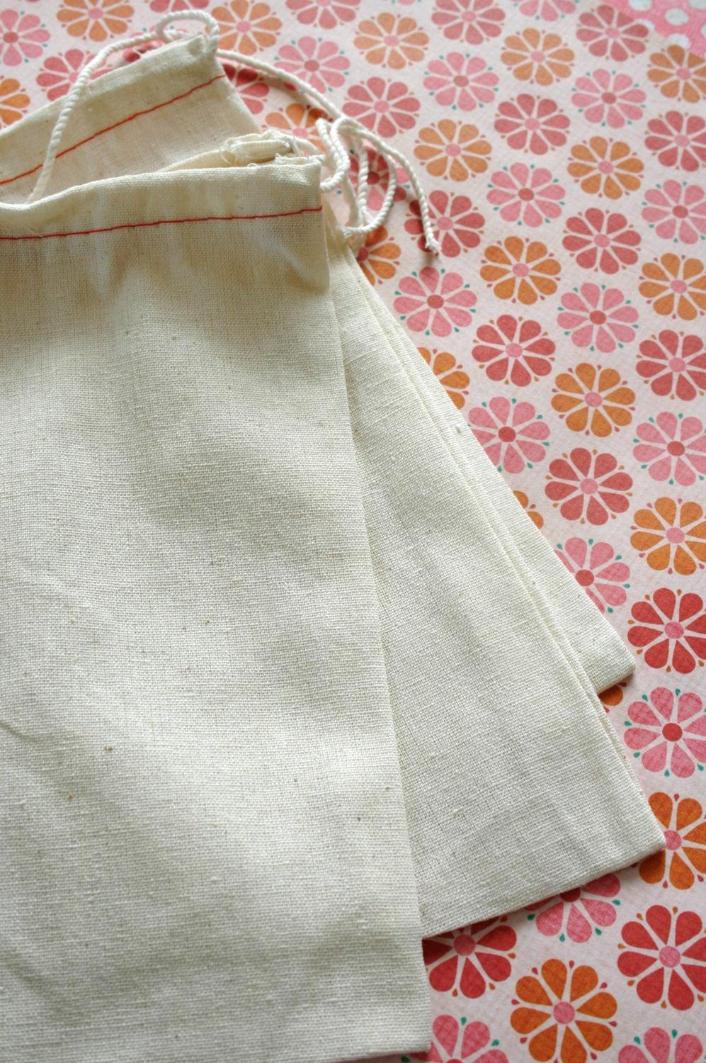 BLANK Cotton Cloth Drawstring