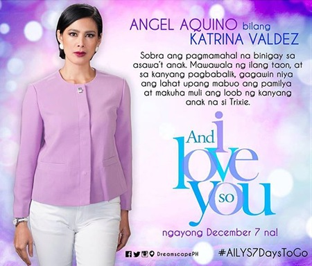 And I Love You So - Angel Aquino as Katrina Valdez