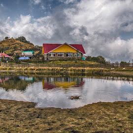 Sandakphu by Subrata Chowdhury - Landscapes Mountains & Hills ( sandakphu )