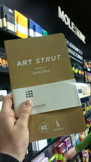 Limited-edition Moleskine Art Strut Notebooks