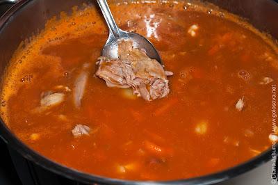 суп с фасолью и бараниной