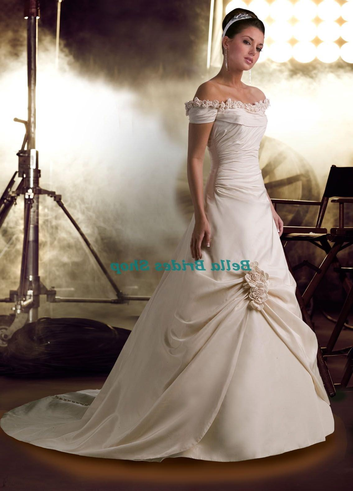 3 4 Sleeve Wedding Dress