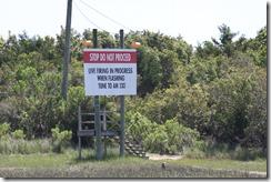Camp LeJeune Warning