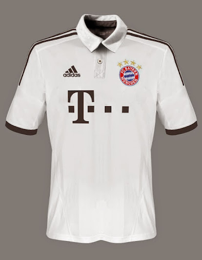 Bayern Munich away shirt 2014