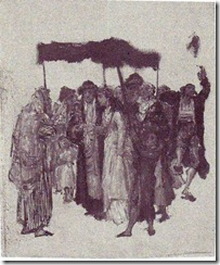 Gottlieb-Jewish_Wedding_sketch