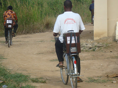 bicycle missionaries