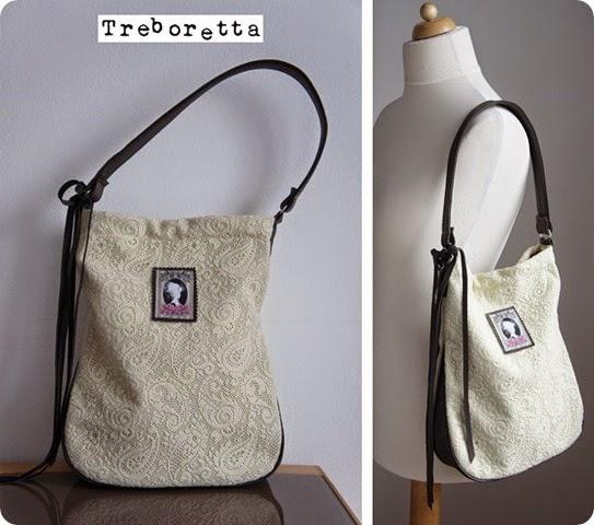 csipkés táska