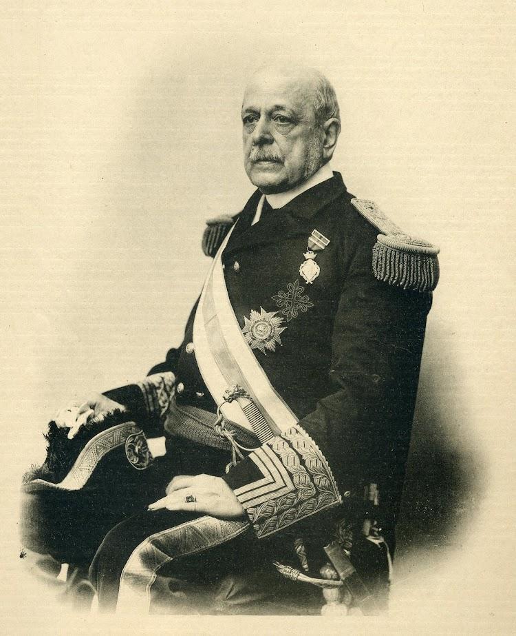 D. José María de Beránger y Ruiz de Apodaca, Vice Almirante y Ministro de Marina. El Mundo Naval Ilustrado. Año 1. Num. 2. 15 de Mayo de 1897.JPG