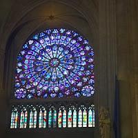 north transept rose Notre Dame