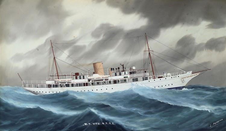 The Royal Thames Yacht VITA. Luca Papaluga 1934..jpg
