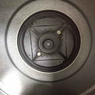 Lint trapped in the gas dryer