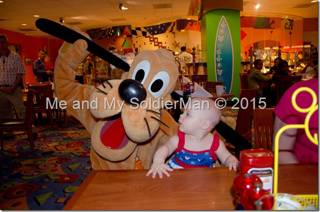 Me and My SoldierMan: Baby G Does Disney(land) Pluto