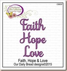 Faith, Hope & Love CSBD97