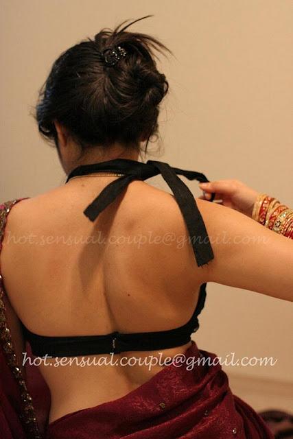 hottest blouse back