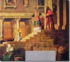 18 Tiziano - La presentazione di Maria part. destra