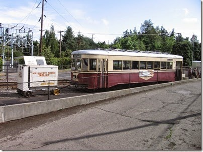 IMG_3179 Willamette Shore Trolley in Lake Oswego, Oregon on August 31, 2008