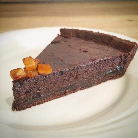 Crostata al cioccolato e arance amare @monsieurtatin.blogspot.it